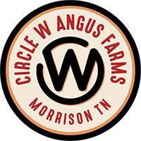 CIRCLE W ANGUS FARMS Logo
