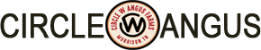 CIRCLE W ANGUS FARMS Mobile Logo